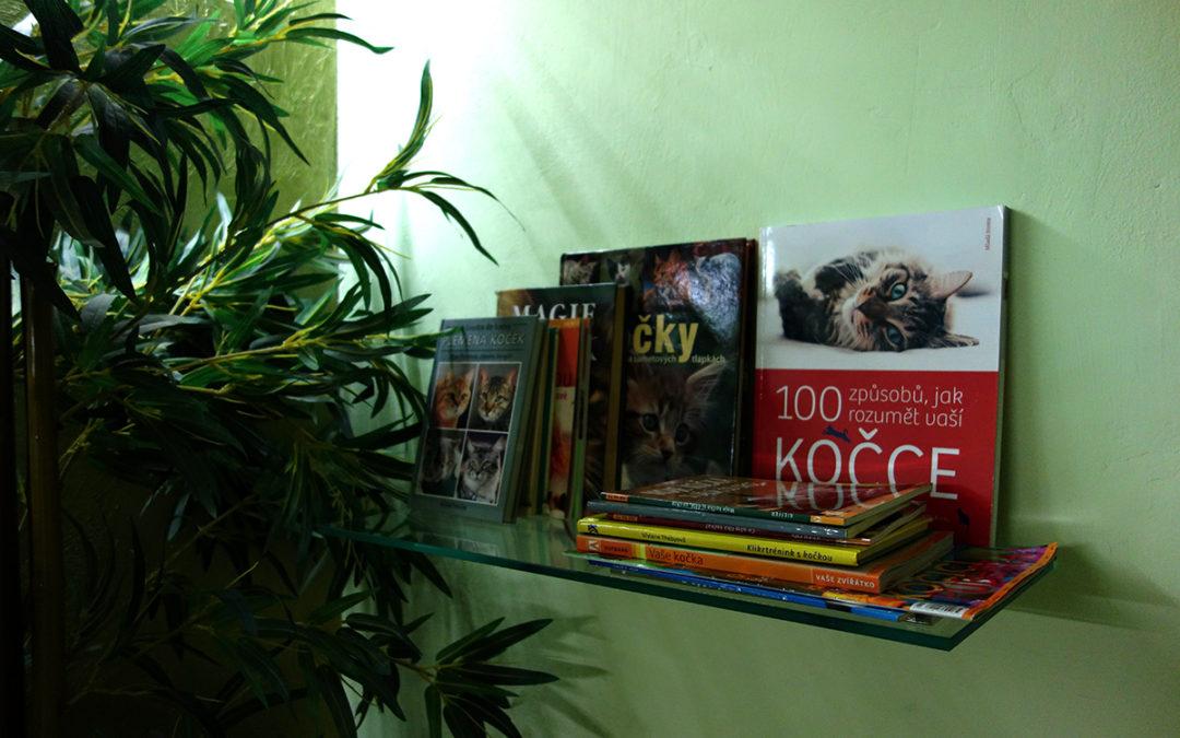 Nová hotelová knihovnička pro naše klienty